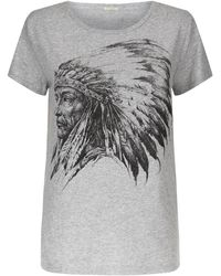 Denim & Supply Ralph Lauren | Red Indian T-shirt | Lyst
