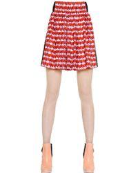 Sonia By Sonia Rykiel Printed Silk Crepe De Chine Skirt - Lyst