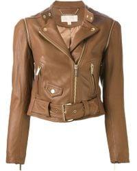 MICHAEL Michael Kors Biker Jacket - Lyst