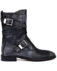 Alexander Wang Louise Leather Ankle Boots - Lyst