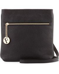Furla Julia Leather Crossbody Bag - Lyst