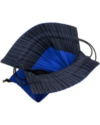 Pleats Please Issey Miyake - Pleated Drawstring Backpack - Lyst