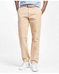 Brooks Brothers   Milano Fit Garment-dyed Chinos   Lyst