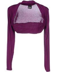 Pf Paola Frani Shrug purple - Lyst