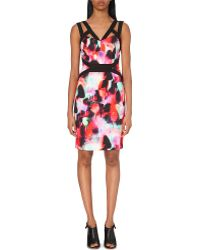 French Connection Miami Abstract-Print Dress  - Lyst
