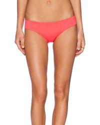 Shoshanna Neon Ruby Hipster Bikini Bottom - Lyst