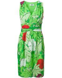 Moschino Cheap & Chic Botanical Print Dress - Lyst