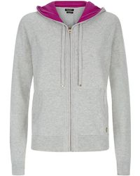 Juicy Couture Cashmere Relaxed Hoodie - Lyst
