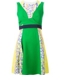 Peter Pilotto Printed A-Line Dress - Lyst