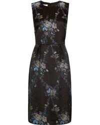 Hobbs Black Alexa Dress - Lyst
