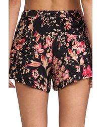 Somedays Lovin - Moss Heart Floral Shorts - Lyst