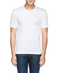 Zimmerli 220 Business Class Cotton Undershirt - Lyst