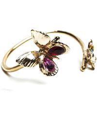Rodarte Gold Butterfly Cuff - Lyst