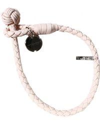 Bottega Veneta Bijoux Bracelet One Wire Woven Knot Open - Lyst