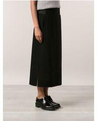 Zero + Maria Cornejo Straight Skirt - Lyst