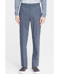 Theory Men'S 'Jake' Stretch Wool Trousers - Lyst