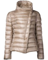 Herno Beige Padded Jacket - Lyst