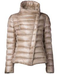 Herno Beige Padded Jacket - Lyst