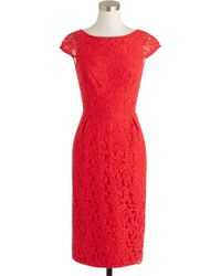 J.Crew Elsa Dress In Leavers Lace - Lyst