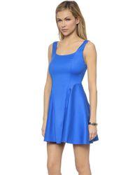 Alice + Olivia Sadie Dress - Umbrella Blue - Lyst
