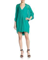 Diane von Furstenberg Fleurette Silk Dress - Lyst