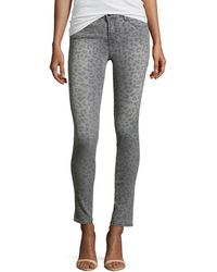 J Brand Midrise Super Skinny Jeans - Lyst