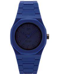D1 Milano - Monochrome Navy Mo 04 Watch - Lyst