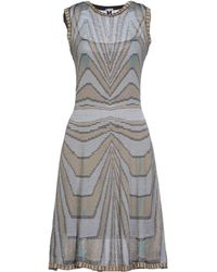 M Missoni Knee-length Dress - Lyst