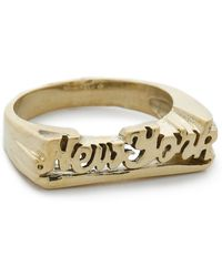 Snash Jewelry New York Ring - Gold - Metallic