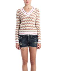 Charlotte Ronson Knit Sweater Multi - Lyst