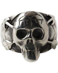 Pamela Love Skull Ring - Lyst