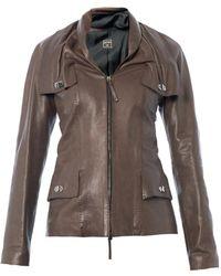 Jean Paul Gaultier - Shawlcollar Leather Jacket - Lyst