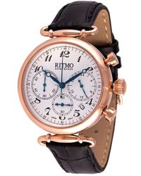 Ritmo Mundo - Chronograph Leather Strap - Lyst