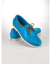 Ralph Lauren Barnard Boat Shoe - Lyst