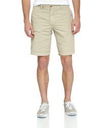 Tailor Vintage Reversible Beachprintsolid Shorts - Lyst