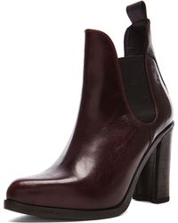 Rag & Bone Stanton Chelsea Leather Booties - Lyst