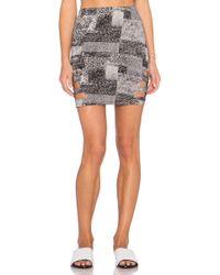 RVCA | Feelin Vibed Cut Out Skirt | Lyst
