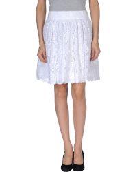 Alice + Olivia Aliceolivia Knee Length Skirt - Lyst