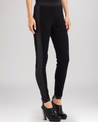 Kenneth Cole Ruby Faux Leather Quilted Leggings - Lyst