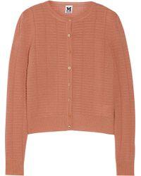 M Missoni Crochet-knit Cardigan - Lyst