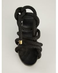 Reinhard Plank - 'Barca' Wedge Sandals - Lyst
