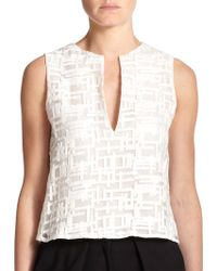 Alexis Lucan Embroidered Top - Lyst