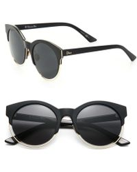 Dior | Sideral 53mm Round Sunglasses | Lyst