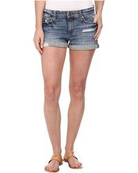Joe's Jeans Rolled Shorts In Gessa - Lyst