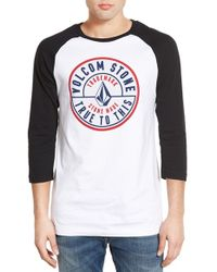 Volcom | Logo-Print Cotton Shirt | Lyst