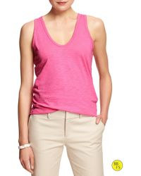 Banana Republic Factory Solid Tank Love Letter - Lyst