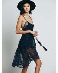 Free People Womens Linde Dress - Lyst