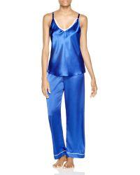Oscar de la Renta - Twilight Vines Three-piece Pyjama Set - Lyst