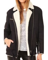 Iro Noma Shearling Jacket - Lyst