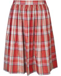 Alaïa 'Pretty As A Picnic' Skirt - Lyst